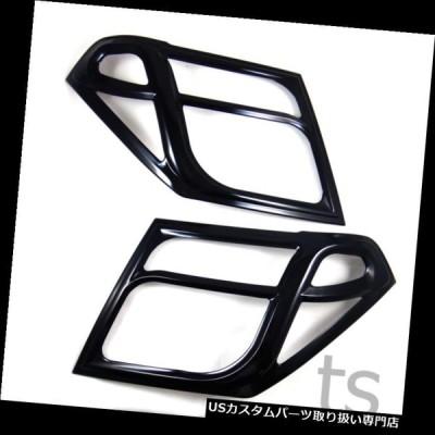 USヘッドライトカバー NISSAN FRONTIER NAVARA D40 2005-2013用ブラックグロスヘッドライトカバー  BLACK GL