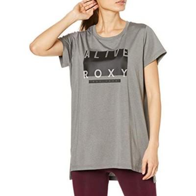 [ロキシー] Tシャツ DEFINITELY レディース GRY 日本 M (日本サイズM相当)