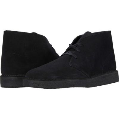 クラークス Clarks メンズ シューズ・靴 Desert Coal Black Suede
