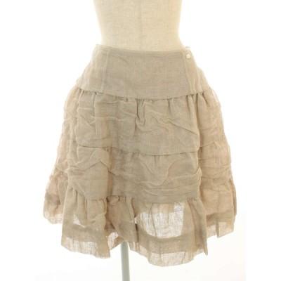 フォクシーブティック スカート 34125 Linen Whip 38