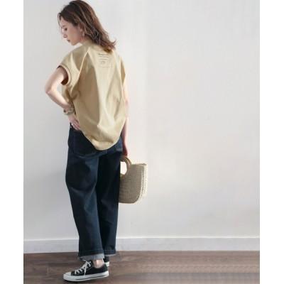 tシャツ Tシャツ 綿100%USAコットン。圧倒的こなれ感。大人女子のシンプルTシャツ。