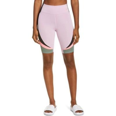 ナイキ NIKE レディース 自転車 ショートパンツ ボトムス・パンツ Heatwave Bike Shorts Arctic Pink/Black/Green