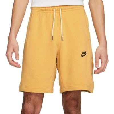 ナイキ Nike メンズ ショートパンツ ボトムス・パンツ Sportswear Revival Fleece Shorts Solar Flare