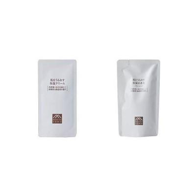 セット買い肌をうるおす保湿クリーム 詰替用(クリーム) 濃厚クリーム 乾燥肌 敏感肌 & 肌をうるおす保湿浸透水 バランシング 詰替用(化粧
