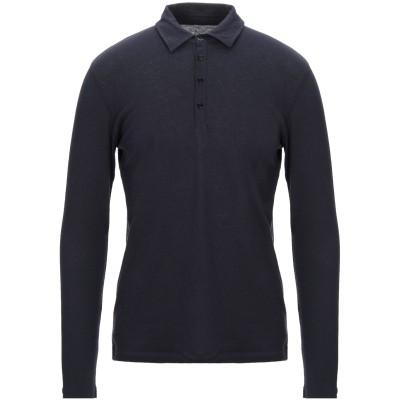 マジェスティック MAJESTIC FILATURES ポロシャツ ダークブルー M コットン 85% / カシミヤ 15% ポロシャツ