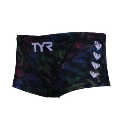 メール便OK TYR(ティア) BLEPD-20F メンズ 競泳トレーニング水着 ショートボックス スイムパンツ 練習用