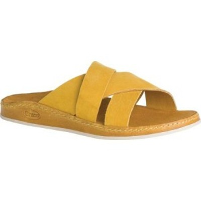 チャコ Chaco レディース サンダル・ミュール シューズ・靴 Wayfarer Slide Ochre Full Grain Leather