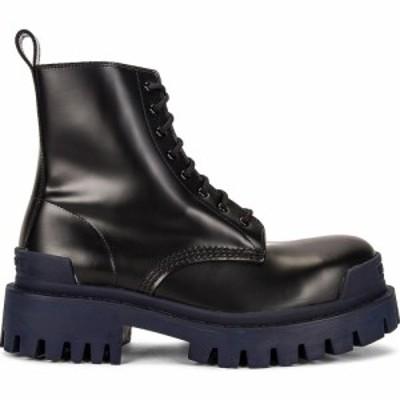 バレンシアガ Balenciaga レディース ブーツ シューズ・靴 strike boots Black