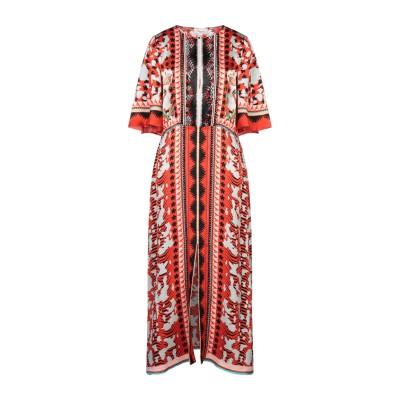 テンパリー・ロンドン TEMPERLEY LONDON ロングワンピース&ドレス レッド 12 シルク 100% / ナイロン ロングワンピース&ド