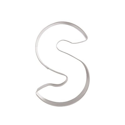 クッキー抜型 アルファベット文字 S / 1個 TOMIZ/cuoca(富澤商店)