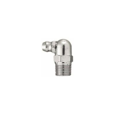 ガレージゼロ  グリスニップル 90-1/8PT JIS(真鍮製)