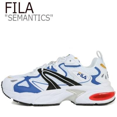 フィラ スニーカー FILA メンズ レディース SEMANTICS セマンティクス WHITE ホワイト 4RM00744_100 シューズ