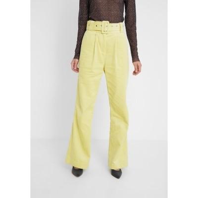 ホフマン コペンハーゲン カジュアルパンツ レディース ボトムス ELISA - Trousers - lemon grass