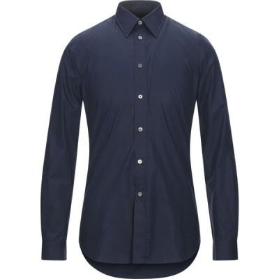 ポールスミス PS PAUL SMITH メンズ シャツ トップス solid color shirt Dark blue