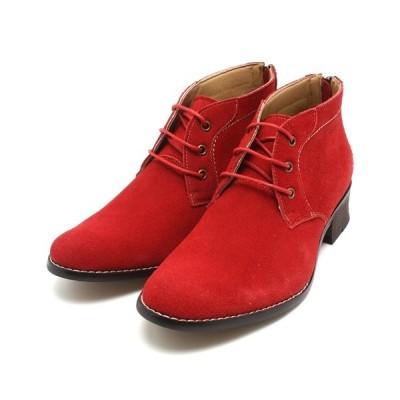 ブーツ   [日本製本革]履いた時のシルエットがきれいなチャッカーブーツ/  DEDESKEN 10566