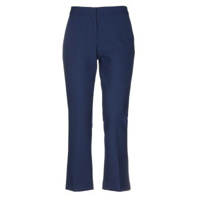 セミクチュール SEMICOUTURE パンツ ブルー 44 アセテート 62% / ポリエステル 38% パンツ
