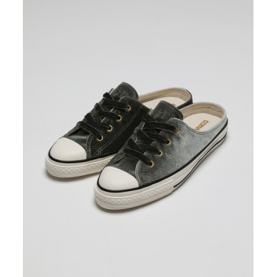 VANQUISH / ALL STAR VELVET MULE OX CHARCOAL WOMEN シューズ > スニーカー
