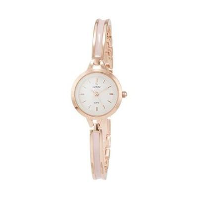[フィールドワーク] 腕時計 フィールドワーク アナログ グレッチ メタルバンド ニッケルフリー ST230-4 レディース (ピンク)