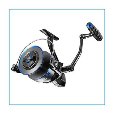 新品Dr.Fish Saltwater Fishing Reel 12000 IPX6 Waterproof Offshore Full Metal Spinning Reel Surf Fishing Reel 55Lb Max Drag 7+1 Stainless Steel Ball