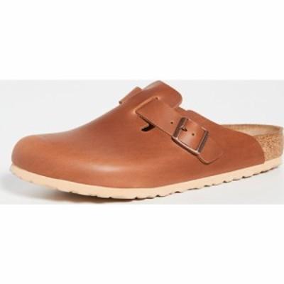 ビルケンシュトック Birkenstock メンズ クロッグ シューズ・靴 boston clogs Antique Pull Up Cognac
