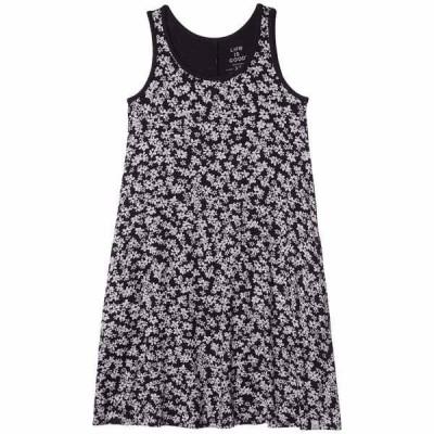 ライフイズグッド ワンピース トップス レディース Trapeze Pocket Dress Jet Black