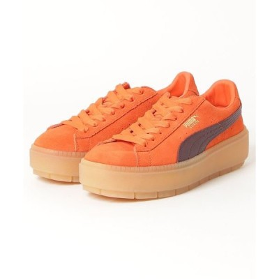 スニーカー PUMA PlatformTrace Block Wn's (ORANGE)