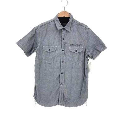 クーティー COOTIE KNAVE OF HEARTS ワークシャツ メンズ M 中古 210319