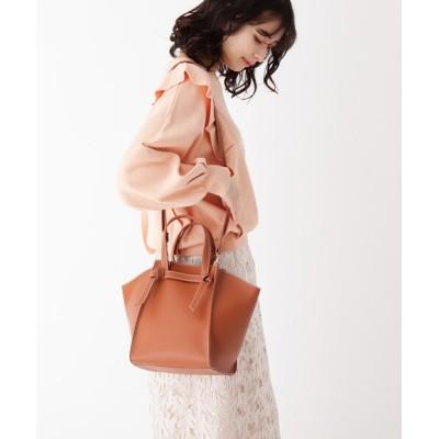 AG by aquagirl / 軽量ソフト合皮結び持ち手トート WOMEN バッグ > トートバッグ