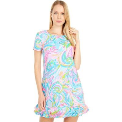 リリーピュリッツァー Lilly Pulitzer レディース オールインワン ワンピース・ドレス Masey Romper Multi Carnivale Coral