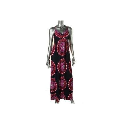 インク ドレス ワンピース INC 0804 レディース パープル Matte Jersey Embellished ノースリーブ Maxi ドレス M BHFO