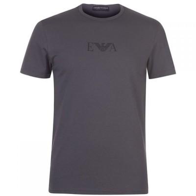 アルマーニ Emporio Armani Underwear メンズ Tシャツ ロゴTシャツ トップス Chest Logo T Shirt Multi