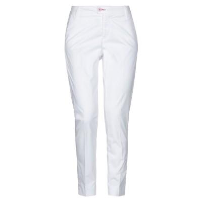 BARONIO パンツ ホワイト 26 コットン 96% / ポリウレタン 4% パンツ