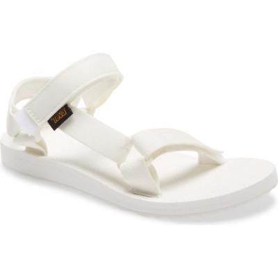 テバ TEVA レディース サンダル・ミュール シューズ・靴 'Original Universal' Sandal Bright White Fabric