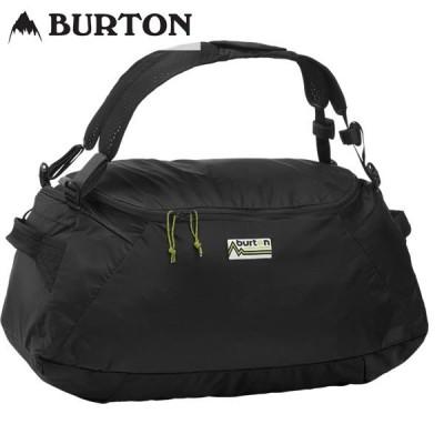 20-21 BURTON ダッフルバッグ Packable Multipath Duffel S 40L 20852100: True Black 正規品/バートン/メンズ/ボストンバッグ/snow