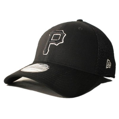 ニューエラ ベースボールキャップ 帽子 NEW ERA 39thirty メンズ レディース MLB ピッツバーグ パイレーツ bk