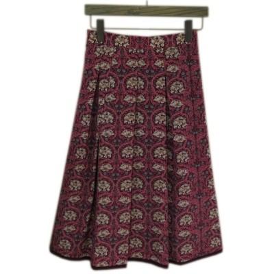 【37%off】 crespi クレスピ  リバティスカート  日本製 サイズ(38) 品番(304-7901) col.65  返品不可