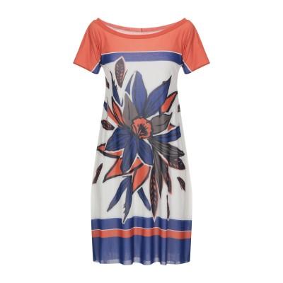 D.EXTERIOR ミニワンピース&ドレス アイボリー XS ナイロン 100% ミニワンピース&ドレス