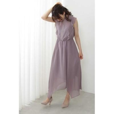 PROPORTION BODY DRESSING/プロポーションボディドレッシング  《Lou Lou Fee》フロントレースネックドレス モカ1 3