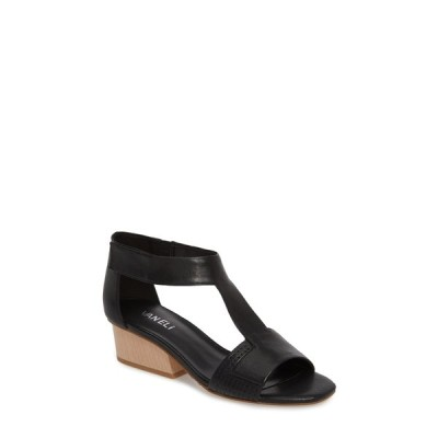 ベネリ レディース サンダル シューズ Calyx Block Heel Sandal - Multiple Widths Available BLACK TRAPPER/BLACK ELASTIC