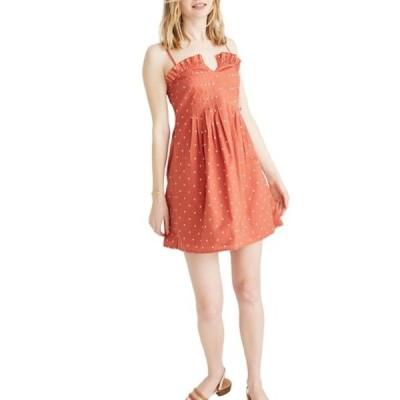 メイドウェル レディース ワンピース トップス Polka Dot Pintuck Cami Dress POLKA DOT SWEET DAHL