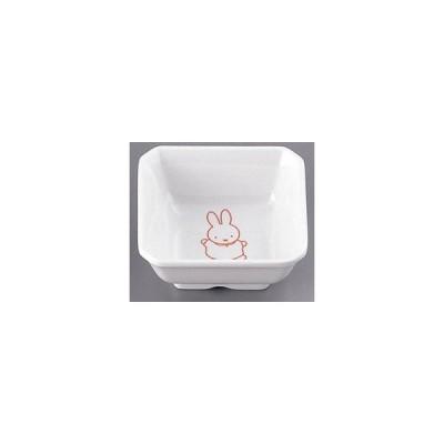 カンプラ メラミンお子様用弁当シリーズ ミッフィー M-331P角小鉢(松花堂用) <RKKA901> [振込不可]
