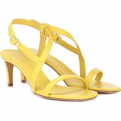 マンサーガブリエル Mansur Gavriel レディース サンダル・ミュール シューズ・靴 Leather sandals Sun