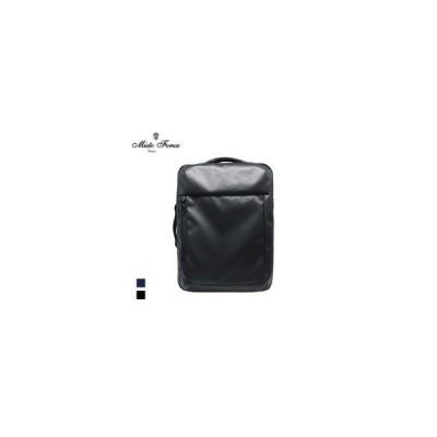 Misto Forza/ミストフォルツァ  ORCA/オルカ FMO02 超撥水 メンズ スクエア ナイロン 3WAYリュック バックパック (ブラック)