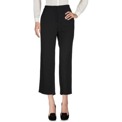 マニラ グレース MANILA GRACE パンツ ブラック 46 レーヨン 100% パンツ