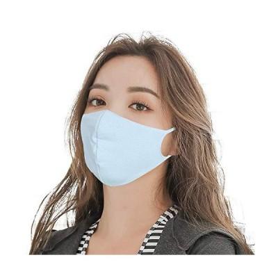 マスク 水着素材( 5枚組 Sサイズ 3歳 〜 小学低学年 )ひんやり 涼しい 接触冷感 夏 夏用マスク 洗濯 洗える 水
