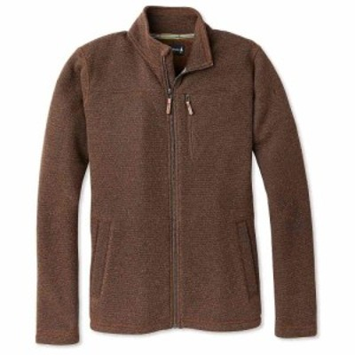 スマートウール Smartwool メンズ フリース トップス Hudson Trail Fleece Full Zip Jacket Bourbon Heather