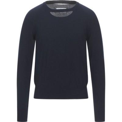 メゾン マルジェラ MAISON MARGIELA メンズ ニット・セーター トップス Cashmere Blend Dark blue
