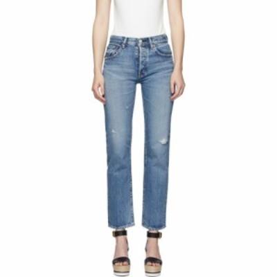 マウジー Moussy Vintage レディース ジーンズ・デニム ボトムス・パンツ blue friant jeans Blue