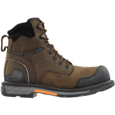 アリアト メンズ ブーツ・レインブーツ シューズ Overdrive XTR 6 Inch Waterproof Composite Toe Work Boots