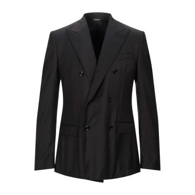 ドルチェ & ガッバーナ DOLCE & GABBANA テーラードジャケット ブラック 50 バージンウール 91% / シルク 9% テーラード